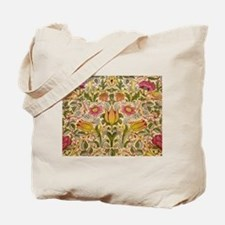 Morris Flowers and Birds design Tote Bag