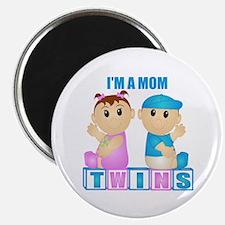 I'm A Mom (PBG:blk) Magnet