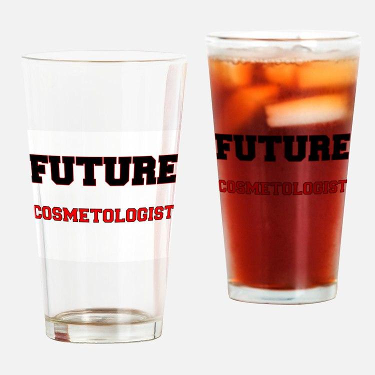Future Cosmetologist Drinking Glass