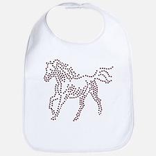 Dotted Horse Bib