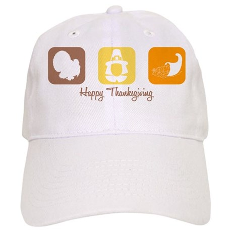 Happy Thanksgiving Cap