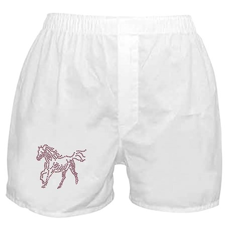 Dotted Horse Boxer Shorts
