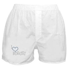 I Love Horses Boxer Shorts