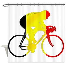 Belgian Cycling Shower Curtain
