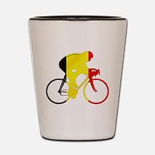 Belgian Cycling Shot Glass