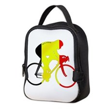 Belgian Cycling Neoprene Lunch Bag