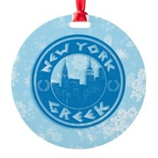 New York Greek American Ornament