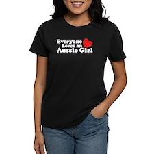 Everyone Loves an Aussie Girl Tee