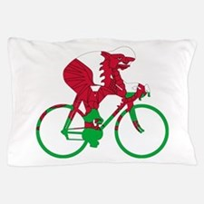 Wales Cycling Pillow Case