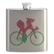 Wales Cycling Flask