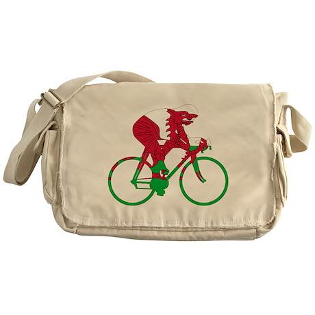 Wales Cycling Messenger Bag