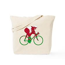 Wales Cycling Tote Bag