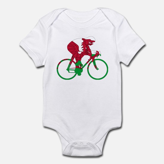 Wales Cycling Infant Bodysuit