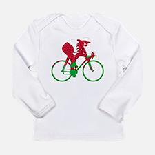 Wales Cycling Long Sleeve Infant T-Shirt