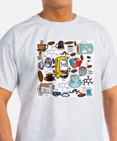 Coffee Collage T-Shirt