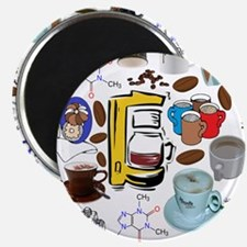 Coffee Collage Magnet