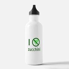 I Hate Zucchini Water Bottle