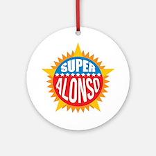 Super Alonso Ornament (Round)