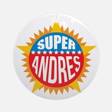 Super Andres Ornament (Round)