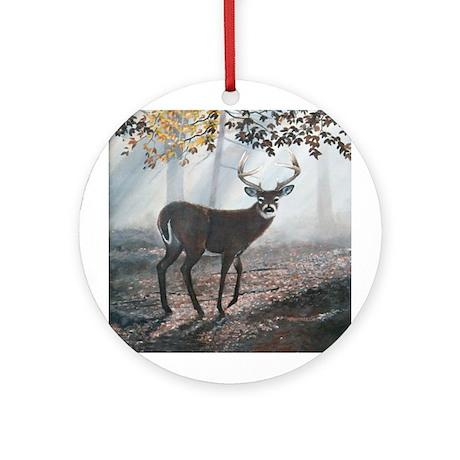 Misty Morning Ornament (Round)