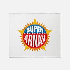 Super Arnav Throw Blanket