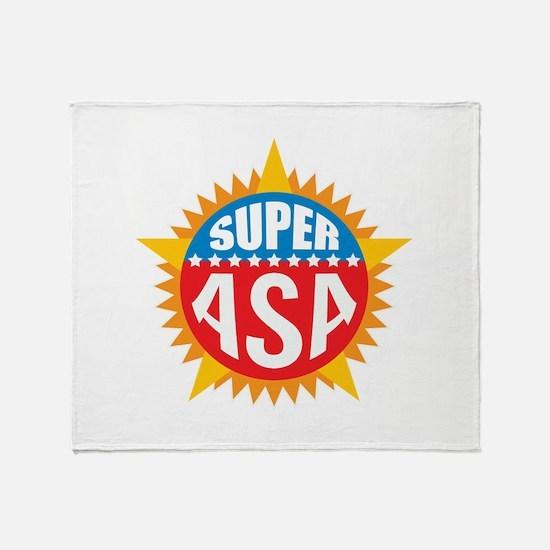 Super Asa Throw Blanket