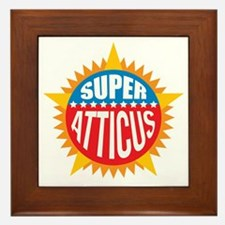 Super Atticus Framed Tile