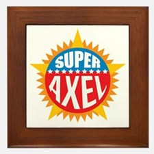 Super Axel Framed Tile