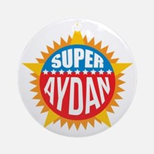 Super Aydan Ornament (Round)