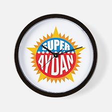 Super Aydan Wall Clock