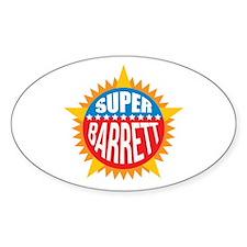 Super Barrett Decal