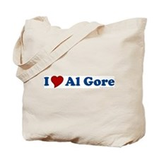 I Love Al Gore Tote Bag