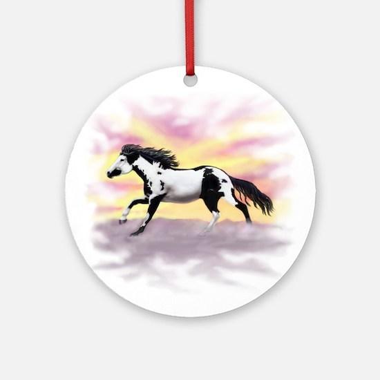 Galloping Ziggy Ornament (Round)