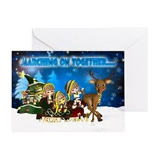 Leeds Elves Christmas Greeting Card