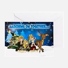 Leeds Elves Christmas Greeting Card