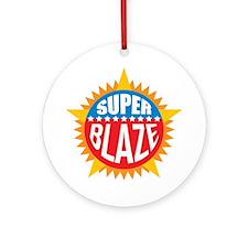 Super Blaze Ornament (Round)