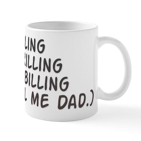 Spider killing - burger grilling - Dad Mug