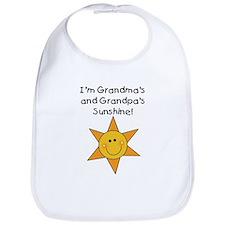 Grandma & Grandpa's Sunshine Bib