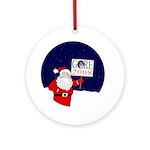 Santa for Gore Christmas Tree Ornament