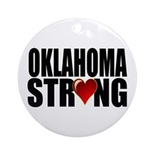 Oklahoma strong Ornament (Round)