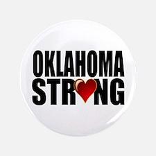 """Oklahoma strong 3.5"""" Button"""