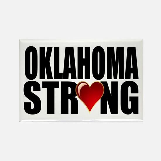 Oklahoma strong Rectangle Magnet