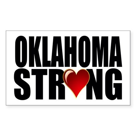 Oklahoma strong Sticker