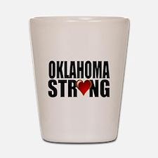Oklahoma strong Shot Glass
