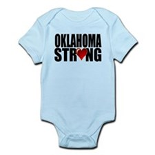 Oklahoma strong Body Suit