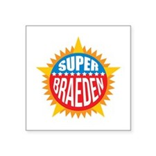 Super Braeden Sticker