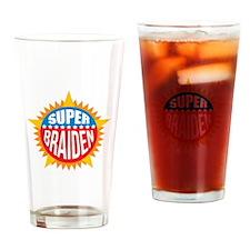 Super Braiden Drinking Glass