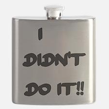 I Didn't Do It Flask