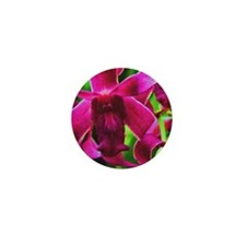 Orchid Mini Button (10 pack)