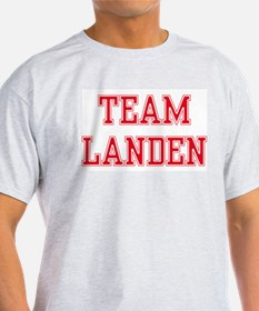 TEAM LANDEN  Ash Grey T-Shirt